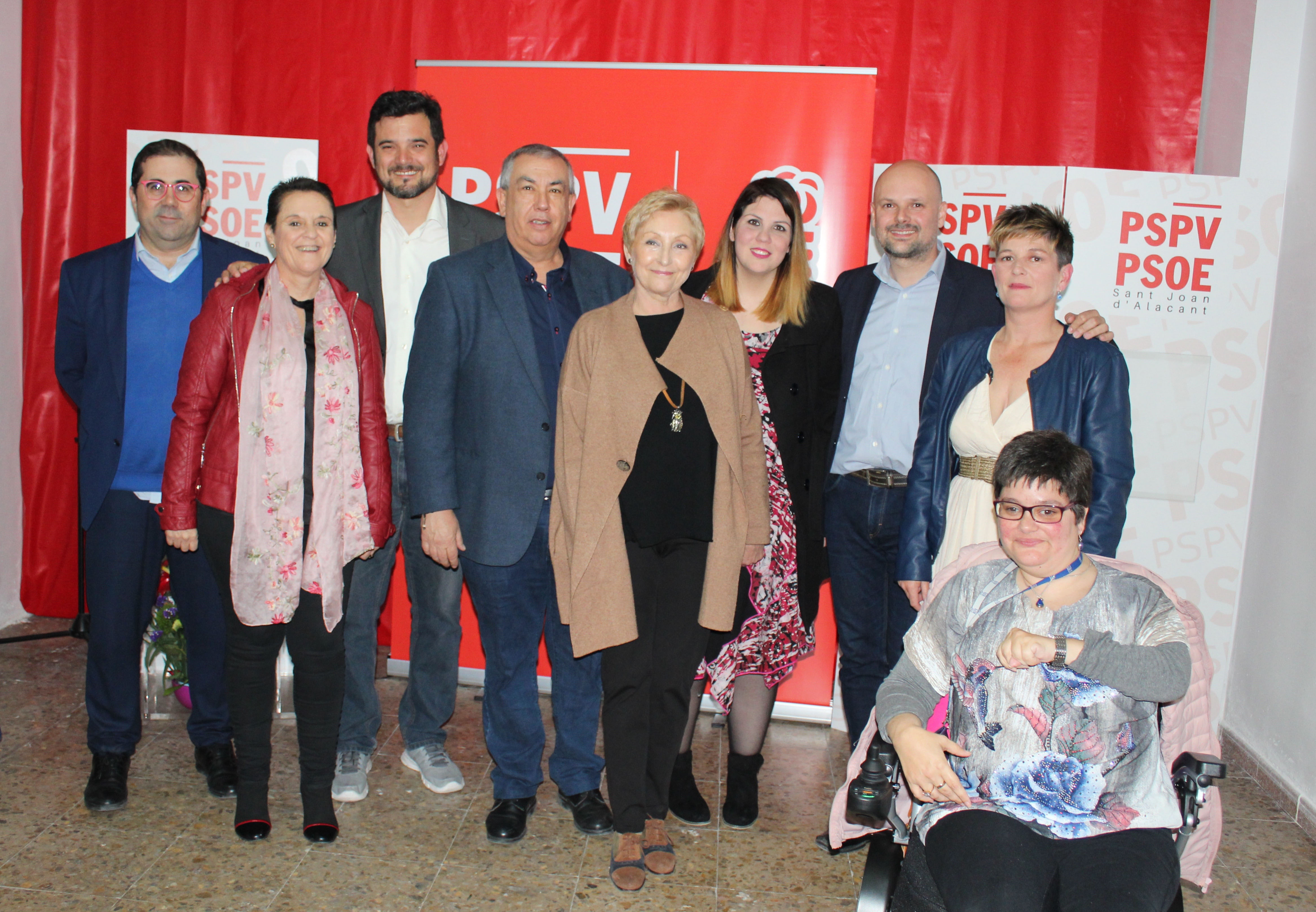 Inauguración sede PSPV-PSOE Sant Joan d'Alacant